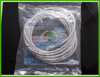5 Meter CAT5e RJ45 Ethernet LAN Network Cable Lead 5M Cable for desktop, laptop, router, modem, switch, hub, DSL, xBox, PS2