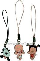 FREE SHIPPING, Enamel keyrings, enamel keychain, zinc alloy key ring, phone pendant
