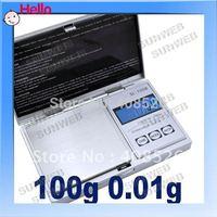 Mini Pocket electronic 100g x 0.01 Jewelry Gram Balance Weight Digital Scale free shopping 1443