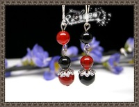 Fashion earring,Free delivery,Natural agate earrings(925 silver earrings),6pairs/lot,$2.3-4.48/pair.