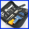 13pcs Watchmaker Watch Horologe Repair Case Opener Adjuster Remover Tool Set Kit  Free shipping + tracking number GJBP0014