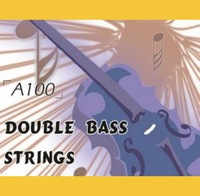 Upright Double Bass Strings Set, 3/4, Steel Core, Nickel Alloy Wound, A1000 (Double Bass Parts)