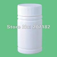 Free shipping (100sets/lot) 80ml PE solid bottle,capsule bottle,health bottle,plastic bottle