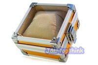 4pcs/lot Luxury aluminum wrist watch box  watch case gift box FREE SHIPPING