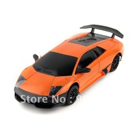 Hot Sale Orange 1:24 Lamb Sports  Car Model Toy w/ Radio Remote Control Full Function