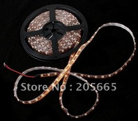 Free Shipping 5m SMD 5050 LED Flexible 150 LEDS Strip light + Free Connector,White/Blue/Red/Green