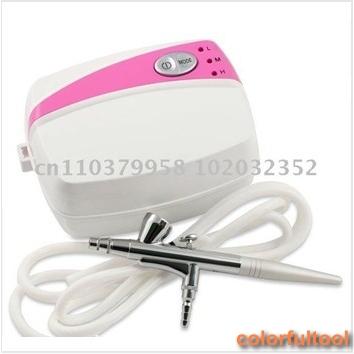 Airbrush Makeup Kit (AC03K); Portable Makeup Airbrush System; Mini Airbrush Makeup;FREE SHIPPING(China (Mainland))