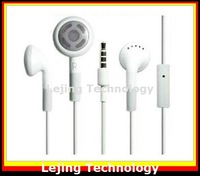 DHL FEDEX free shipping stereo earphone for iPhone 4S 4G 3GS ipod, headphones for ipod wholesale