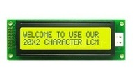 new LCM 20X2 2002 20*2 Character LCD Module Display Yellow Green