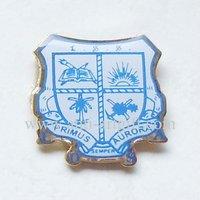 FREE SHIPPING, Silk printed badge