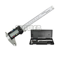 150 mm 6 inch LCD Digital Vernier Caliper Micrometer Guage free shopping 189