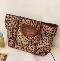 2012 hot selling leopard print bag, fashion casual Shoulder/Messenger bag, free shipping