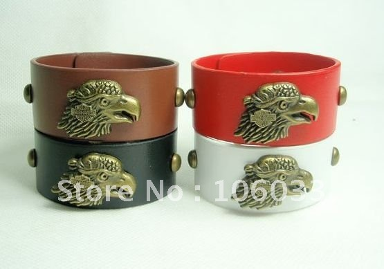 free Shipping! Wholesale Europe and the United States punk style exaggerated textured gold rivets bracelet/jewelry  bangles