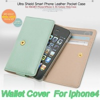 NEW Leather Travel Case Wallet Cover Card Holder For 4