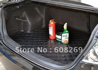 Wholesale upscale super fiber leather trunk mat for car rear pad wear waterproof antifouling/car carpet