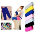 Hem lace EAST KNITTING Wholesale 5pc/lot 2012 Women Cotton Fake Jeans Fashion New Style Capris/Leggings Hot Sale