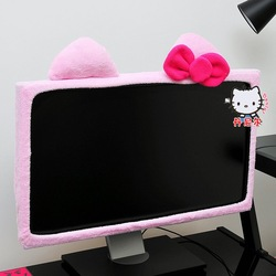 Hello Kitty Computer LCD Monitor Decoration Plush dropship Wholesale EASTER GIFT(China (Mainland))
