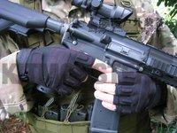S.O.L.A.G. SPECIAL OPS 1/2 FINGER LIGHT ASSAULT Blackhawk S.O.L.A.G. HellStorm half finger Gloves