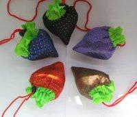 Free Shipping! Strawberry Bag Cute Foldable Shopping Bag,Foldable Bag