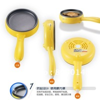 Free Shipping Mini Safe Electric pan / Non-stick / best for egg  &  Beef