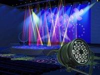 Hot sale!Professional led stage lighting par light 3Wx18pcs 100% Quality guarantee