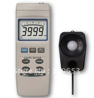 0.01-40/400/4k/40k/400klux,water resisitance, 4 light type digital Light(Lux) meter LX-1108 Freeshipping
