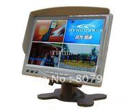 RSA-712 7 inch 4CH h.264 LCD DVR,Blu-ray hd pixel,Sunshade function, remote control