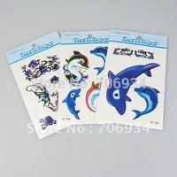 50pcs/lot Temporary Tattoos Tattoo Stickers For Body Art Painting Waterproof Mix Designs B1-59