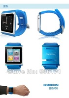 Free Shipping DHL 20pcs For ipod Nano 6 Aluminum Joyroom Q10 JOY ROOMWatch Kits Band Wrist Strap Tiktok-Touch Watch Kits Case