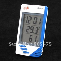 10x  shipping,Digital LCD Temperature Humidity Meter Alarm Clock Temp #1304