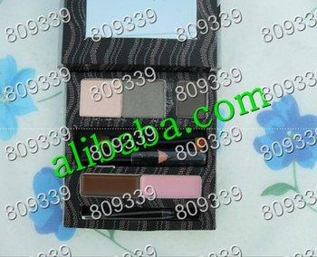 Free shipping NEW smokin eyes sexy eye & brow makeover kit sets ( 10 pcs /lot)