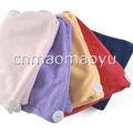 wholesale!25pc/lot 80g NEW Microfiber Towel Microfibre Hair Drying Cap Turban Hair Towel spa towel140001