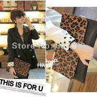 free shipping,Women Horse Fur Clutch Shoulder Purse Handbag Sling Envelope Bag