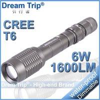 Мини-3w 250lm люмен cree q5 фокус регулировать зум привело фонарик 3mode АА черный