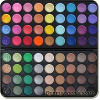 72 Color Eyeshadow  Palette Pro Shining Makeup Eye shadow Palette Kit  #72XP Set Free Shipping Wholesale 4pcs/lot