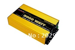 Factory sell 3000W pure sine wave true inverter DC 12V/24V TO AC 100V/240V(China (Mainland))