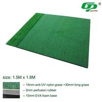 GP1518D MultiFuction golf swing mat golf range mat  detachable