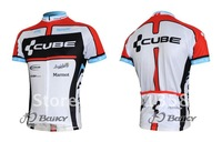 Wholesale -CUBE Team 2011 Short Sleeve Cycling /bike Jersey /wear/clothes Set Jersey  S - XXXL