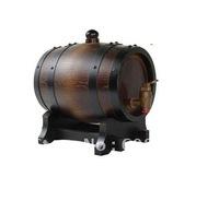free shipping 0.75L wooden Oak Wine Aging wood Barrel Rum Cask Beer Keg Furniture