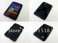 10pcs/lot Free shipping Soft TPU Gel Case for Samsung Galaxy Tab 7.0 Plus P6200 New