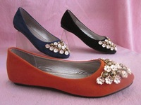 Женские кеды 2012 Spring arrival shoes! The four seasons single shoes, women's shoes with flat! Plus size 34-43