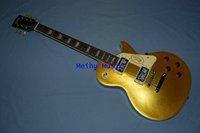 (Free shipping)Custom supreme Electric Guitar Metal yellow color  guitar case