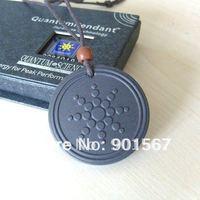 [10 pcs / lot] Quantum Scalar Energy Pendant Clasic Sun Flower Design Necklace Power Ions 2000 - 3000 Free Shipping