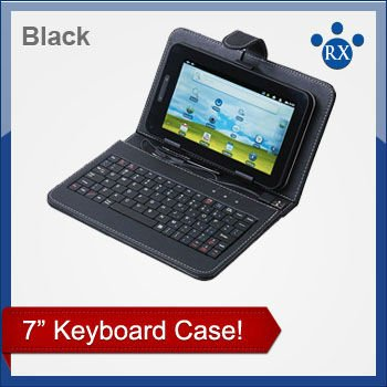 USB 78 keys Keyboard Cover Case Bag for 7 inch Tablet PC / MID / PDA , Enjoy Digital Life! Free Shipping + Drop Shipping!