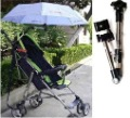 Free shipping new 1pcs/lot Stroller Pram wheelchair Bike umbrella Connector Holder outdoor tool sku:12