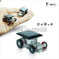 Freeshipping 20pcs/Lot The smallest solar car in the world,Mini solar car, Solar Toy
