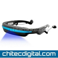 DHL Free Shipping-Video Glasses,Video Eyewear with 52inch LCD Screen ,Built in 4gb Memory ,external card slot max 32GB