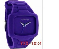 YZX-1024 -wholesale silicone watches wholesale(mixed batch)Environmental watches - Jewelry & Watch-Watches & Clocks-Wristwatches