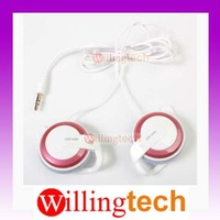 Q50 Stereo Earphone Clip Hook for MP4 MP5 CD free shipping