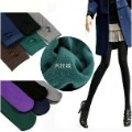 2012 Spring/Autumn 6pcs/Lot Women Slim Double Warm Napping Woven Pants Stirrupped Leggings-5 color can be choose